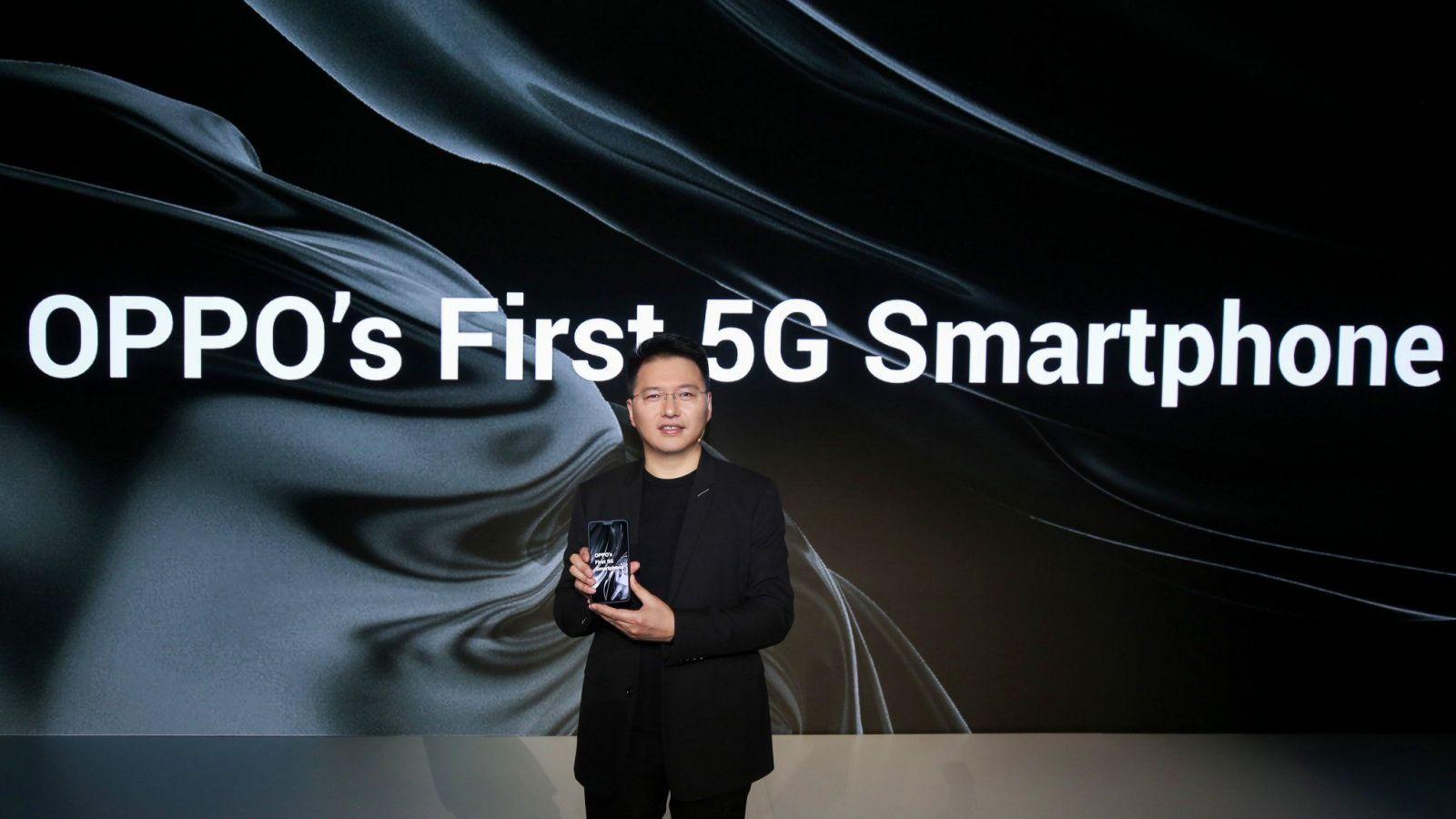MWC 2019. Oppo представила свой первый 5G-смартфон ()