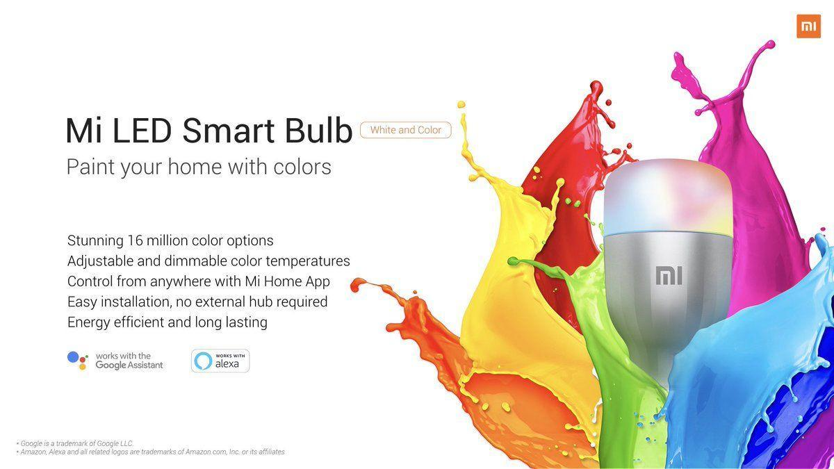 MWC 2019. Xiaomi представила умную лампочку Mi LED Smart Bulb (d0kkltfvaaeiq i)