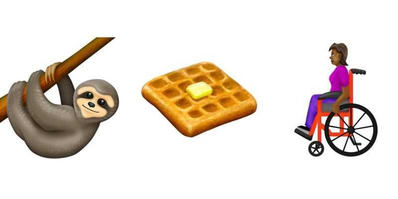 Ленивцы, вафли и инвалидные коляски: Unicode представила новые эмодзи (dims 13)