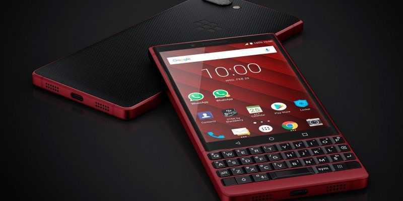 MWC 2019. BlackBerry KEY2 будет в красном цвете и с памятью 128 ГБ (dims 4 1)