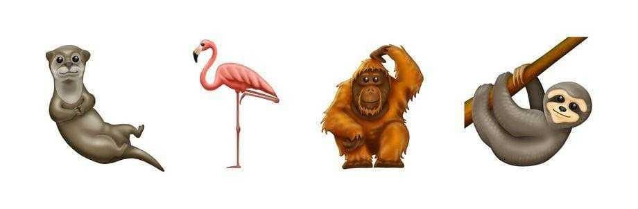 Ленивцы, вафли и инвалидные коляски: Unicode представила новые эмодзи (emojipedia animals emoji 12 0 1)