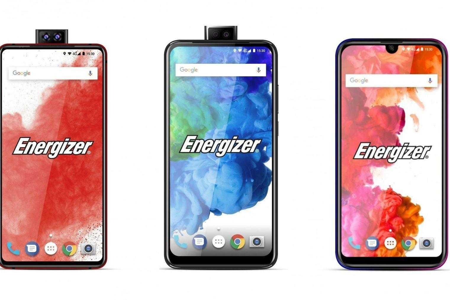 Energizer покажет 26 смартфонов на MWC 2019 (energizer phones 2019)