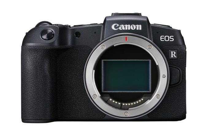 Canon анонсировала полнокадровый фотоаппарат EOS RP (eosr front body d)