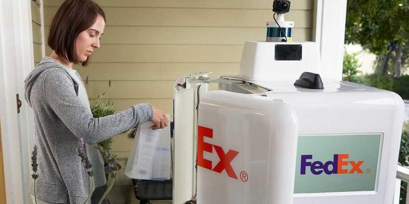 FedEx представила FedEx SameDay Bot. Робот для доставки на короткие расстояния (fedex bot)