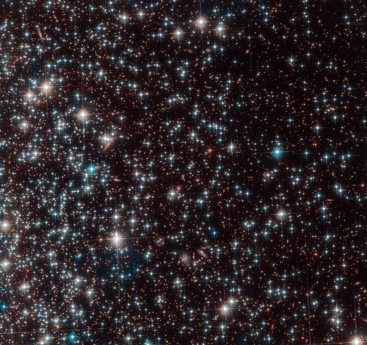 Астрономы случайно нашли карликовую галактику Bedin 1 (globular cluster ngc 6752)