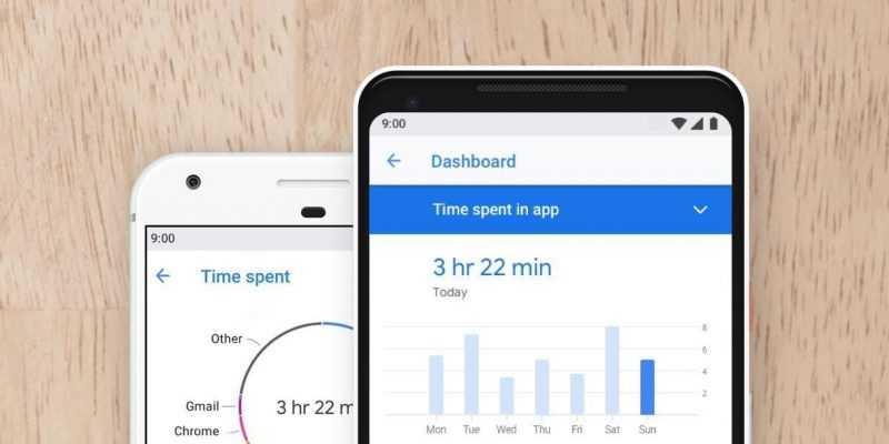 Google разрешит устанавливать Digital Wellbeing на все смартфоны (google digital wellbeing render)