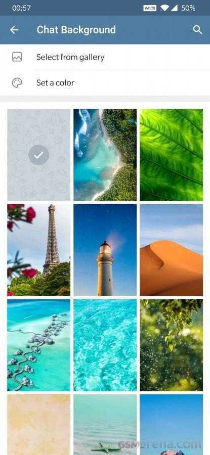 В Telegram добавили полностью настраиваемые фоны (gsmarena 003)
