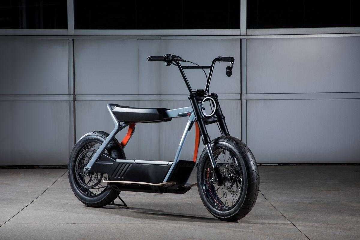 Harley-Davidson делает электроскутер (harley davidson electric scooter.0)
