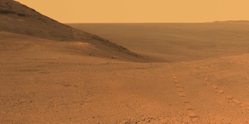 Марсоход Opportunity завершил свою карьеру: После песчаной бури он перестал выходить на связь (image 24)