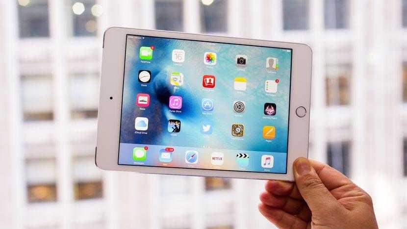 iPad mini 5 не будет сильно отличаться от текущего, но будет быстрее (ipad mini 4 01)