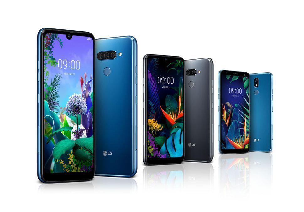 LG представляет три новых смартфона среднего класса в преддверии MWC (lg mwc 2019 range)