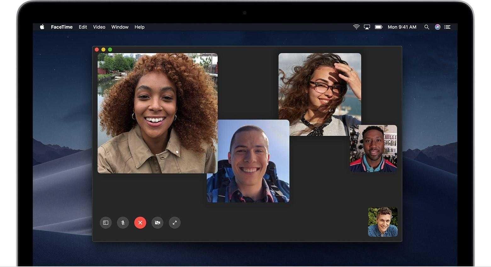 Apple исправила ошибку в FaceTime, но в приложении ещё есть проблемы (macos mojave macbook group facetime hero)