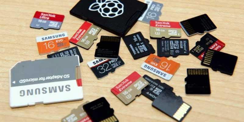 MWC 2019. Micron и SanDisk выпустят microSD-карты объемом 1 ТБ (microsd cards jeff geerling raspberry pi sbc)