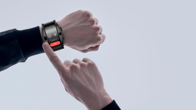 MWC 2019. Nubia представляет часы Nubia Alpha с функциональностью смартфона (nubia alpha aim 668x376 1)