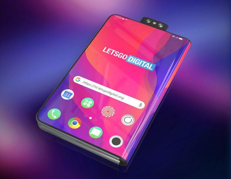 MWC 2019. Складной смартфон Oppo появился на рендерах (oppo telefoon)
