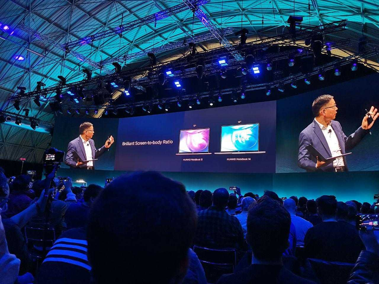 MWC 2019. Huawei представила недорогой MateBook 14 (photo 2019 02 24 16 30 37)