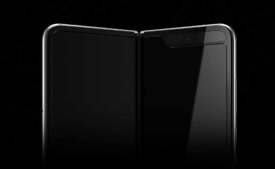 Первые изображения и характеристики складного смартфона Samsung Galaxy Fold (samsung galaxy fold teaser2)