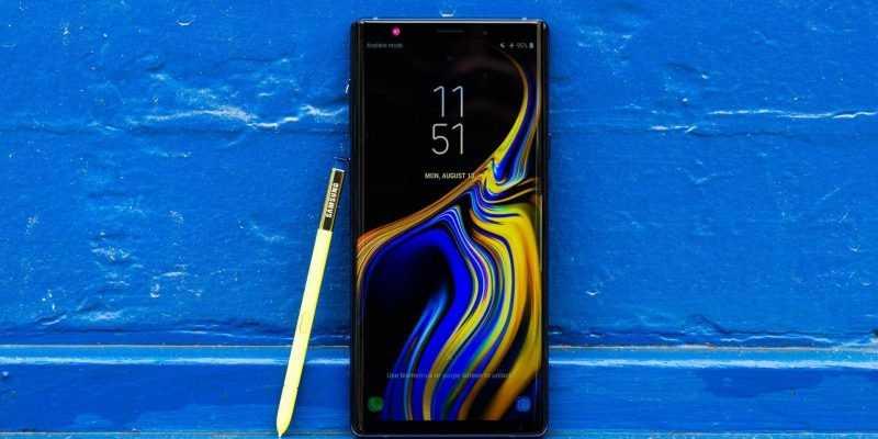Galaxy Note9 начал получать Android 9 Pie (samsung galaxy note 9 2)