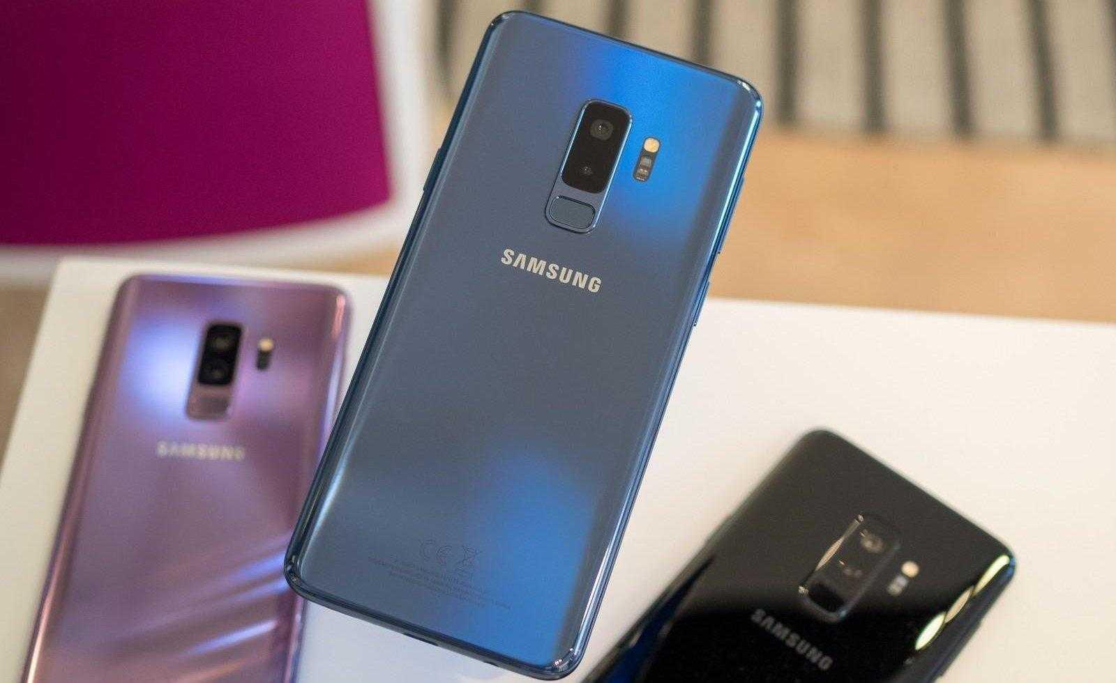 Всё о Samsung Galaxy S10: новости, слухи, дата выхода, тех. характеристики и другое (samsung galaxy s9 plus coral blue with purple and black e1549130060779)