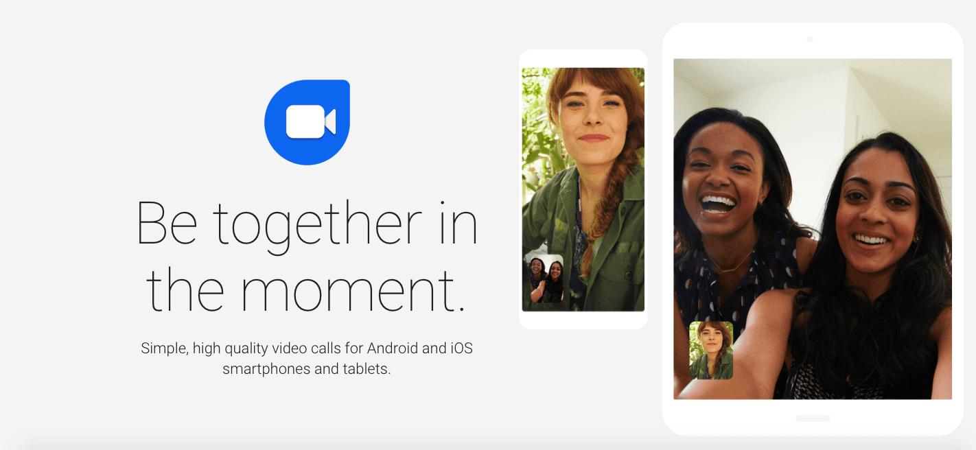 Видеочат Google Duo получил веб-версию (snimok jekrana 2019 02 27 v 7.01.50)