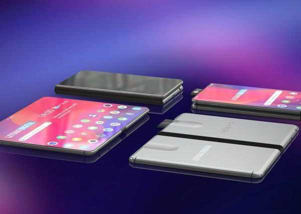 MWC 2019. Складной смартфон Oppo появился на рендерах (telefoon met pop up camera 770x428 1)