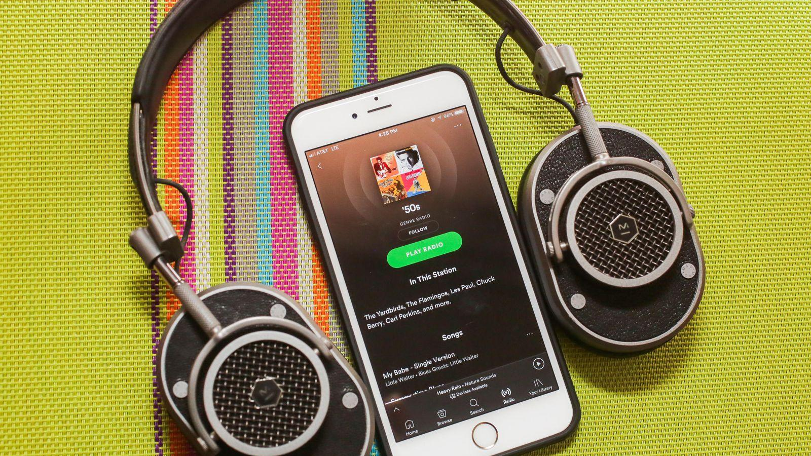 Крупные музыкальные сервисы обжалуют повышение авторских гонораров (01 spotify headphones)