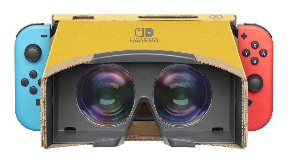 Nintendo выпустила VR-набор Labo для Switch (1)