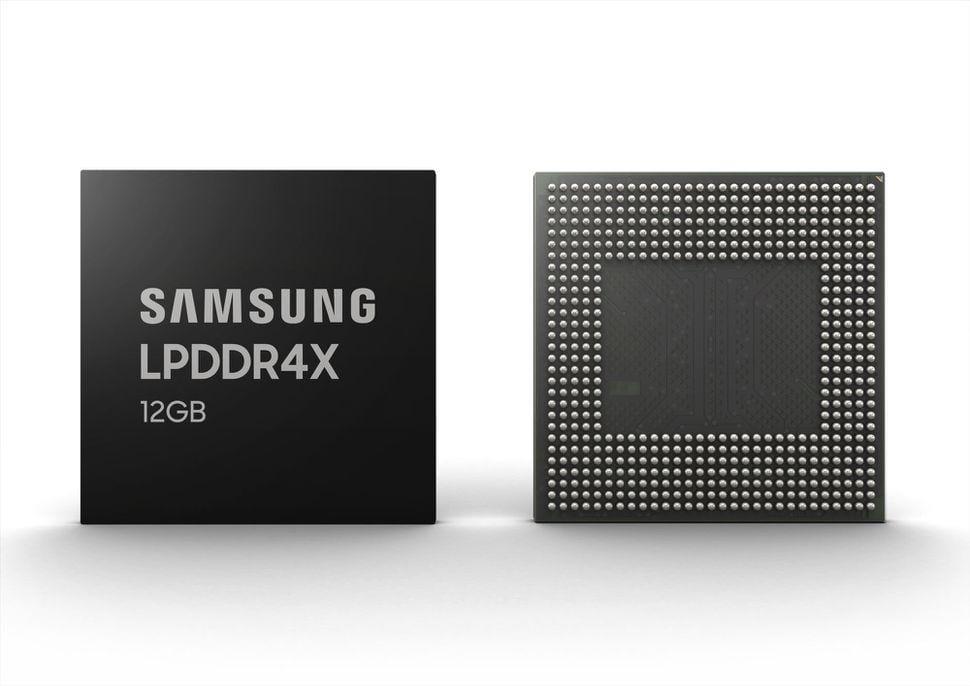 Samsung начинает производство оперативной памяти 12 ГБ для телефонов (123 2)