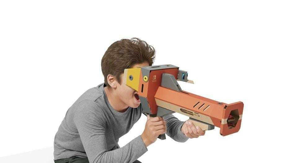 Nintendo выпустила VR-набор Labo для Switch (2)