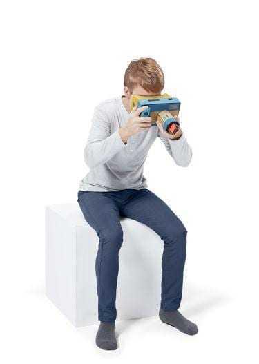 Nintendo выпустила VR-набор Labo для Switch (3)
