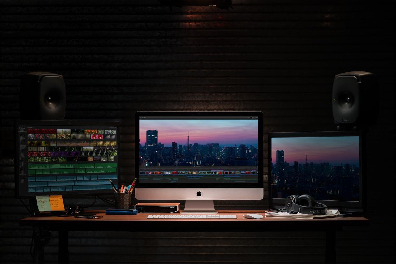 Apple выпустила обновлённые iMac с процессорами Intel 9-го поколения и видеокартами Vega (apple imac gets 2x more performance video editing 03192019)