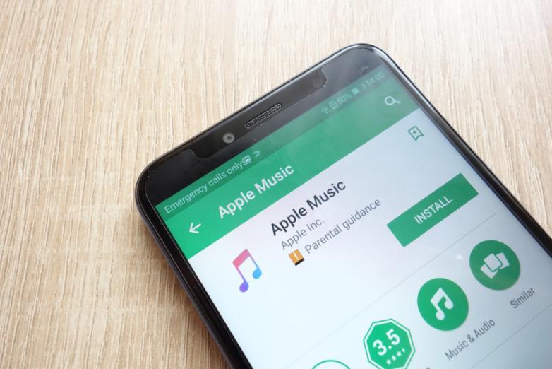 Популярность Apple Music на Android растет (apple music android)