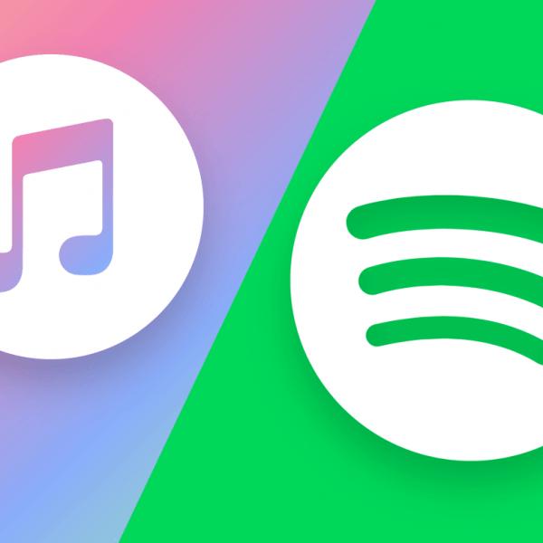 ЕС начнет расследование антиконкурентного поведения Apple в связи с жалобой Spotify (apple music vs spotify)