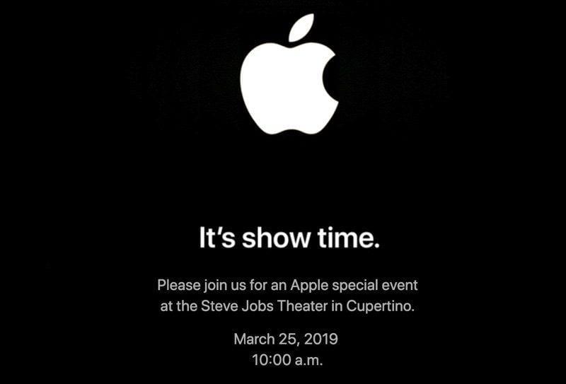 Презентация Apple пройдет 25 марта. Ожидается анонс видеосервиса и платной новостной подписки Apple News (appleitsshowtimeevent)