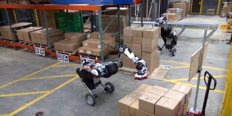 Видео: робот Boston Dynamics складывает коробки как в тетрисе (boxes3)