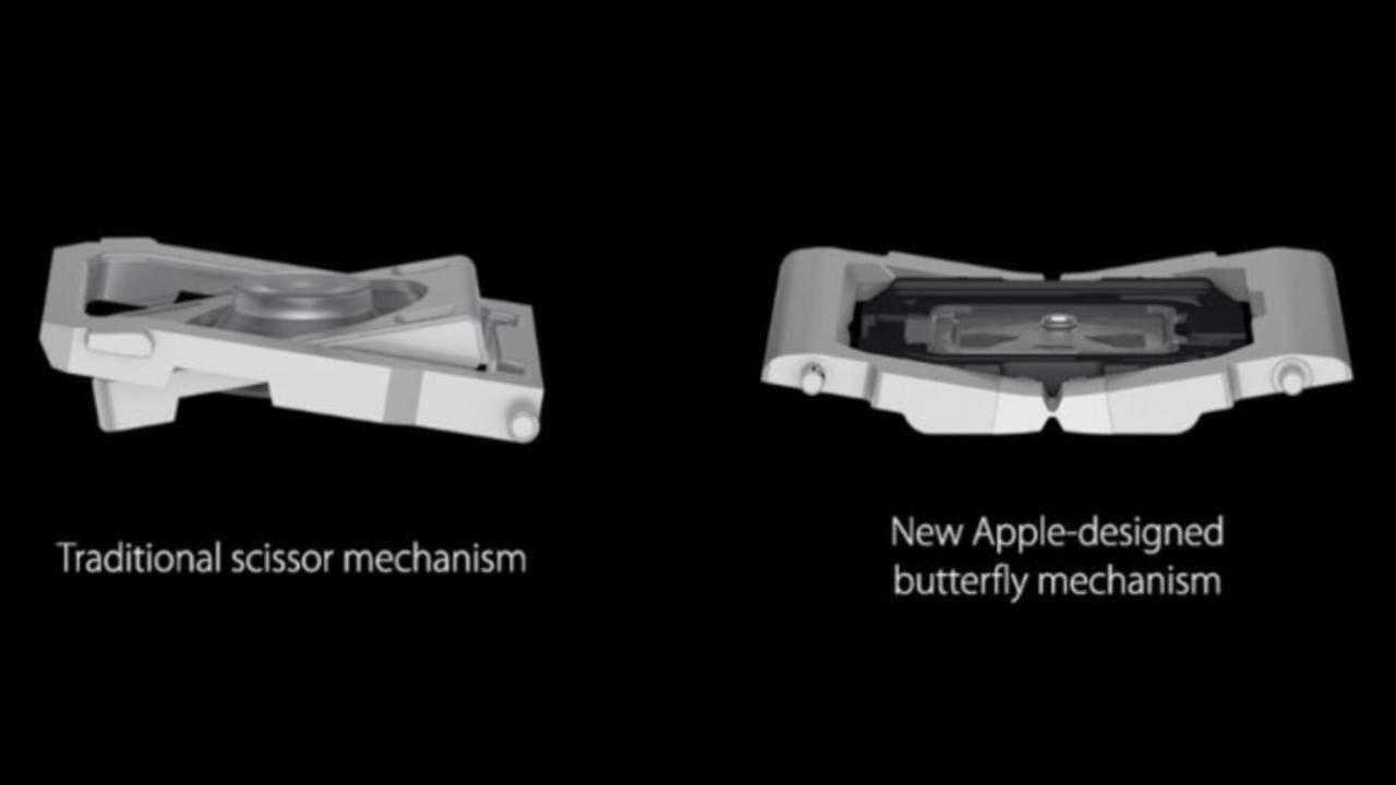 Apple извинилась за проблемы с клавиатурой MacBook (butterfly keyboard 1)