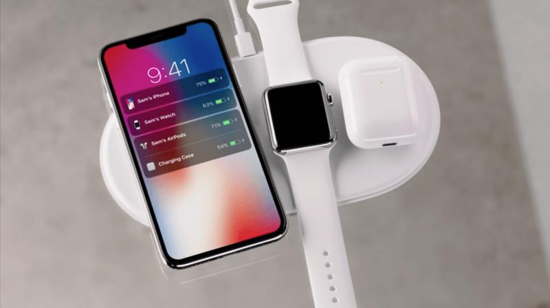 Apple может анонсировать AirPower и чехол AirPods с функцией беспроводной зарядки до конца недели (charging case)