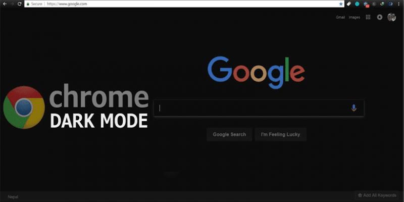 Темный режим появится в Google Chrome на MacOS (darkmode)