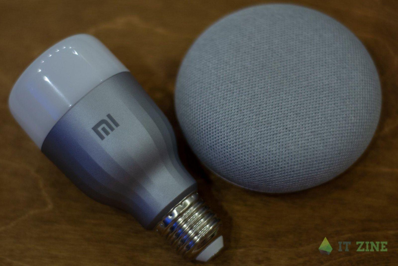 Обзор умных лампочек Xiaomi Mi LED Smart Bulb + Google Home: да будет свет (dsc 7090)