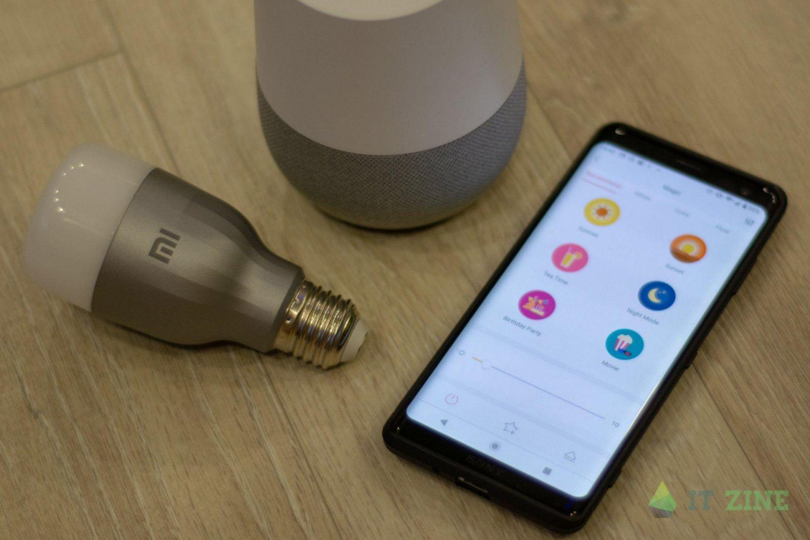 Обзор умных лампочек Xiaomi Mi LED Smart Bulb + Google Home: да будет свет (dsc 7091)