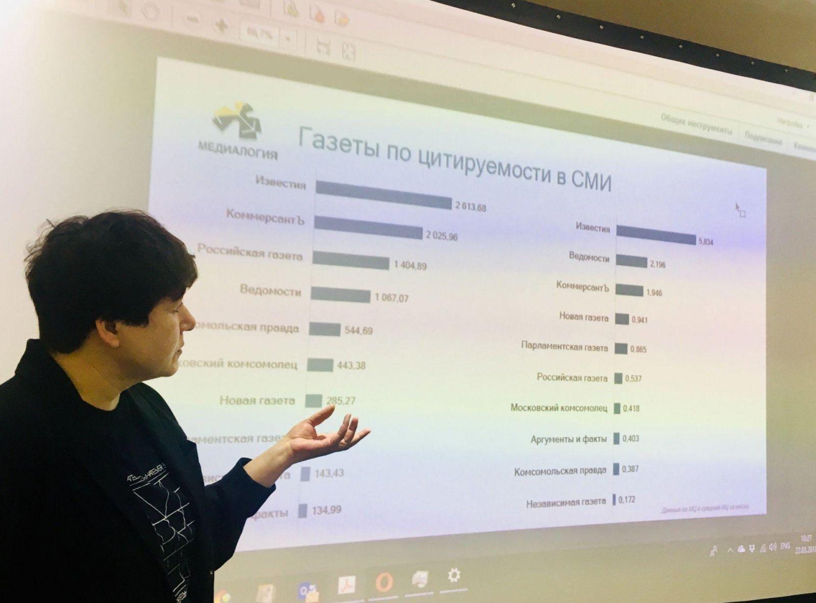 В Сочи прошёл семинар по аналитике и монетизации для цифровых СМИ ()