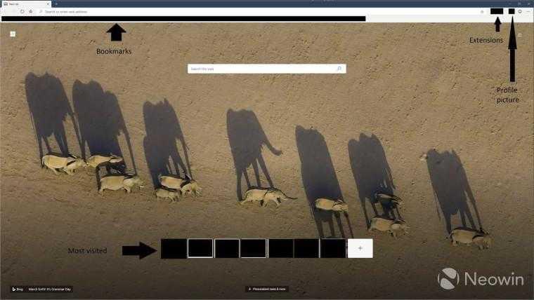 В сети появились первые изображения нового браузера Microsoft (edge1)