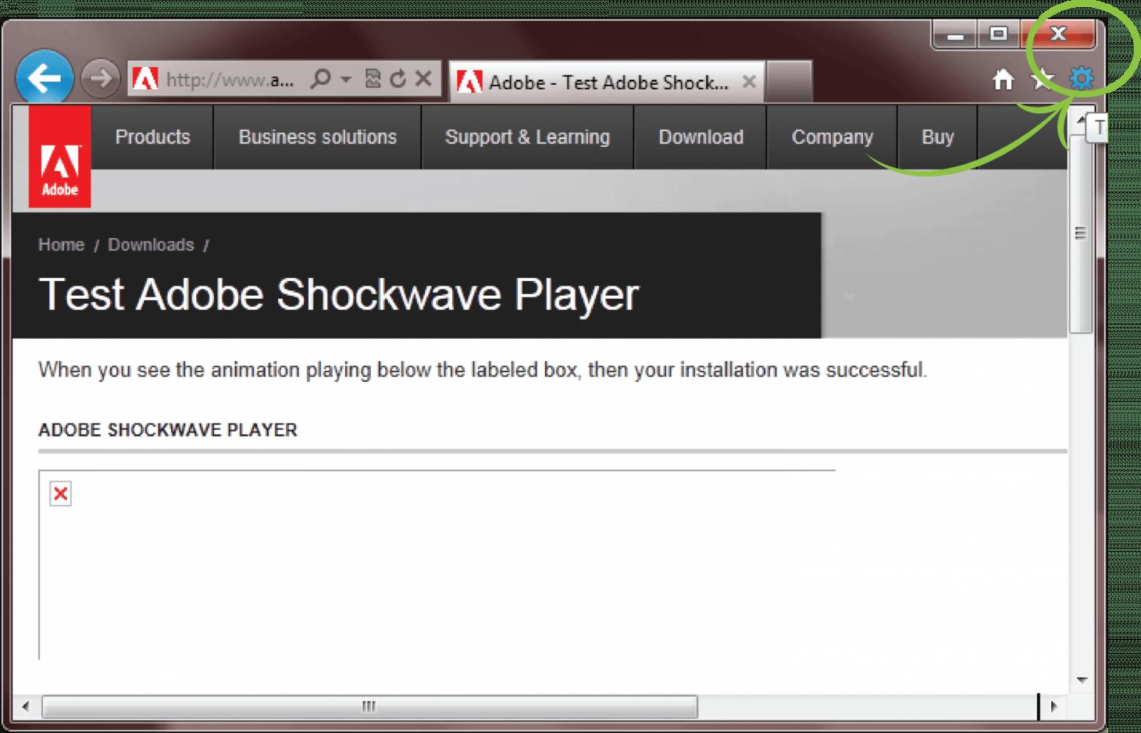Adobe Shockwave закроют 9 апреля (enable ie 1)