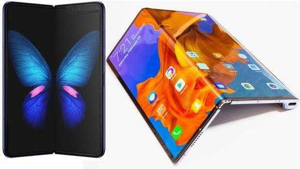 Samsung разрабатывает новые смартфоны с гибким экраном, аналоги Galaxy Fold (folding phone standoff 19)