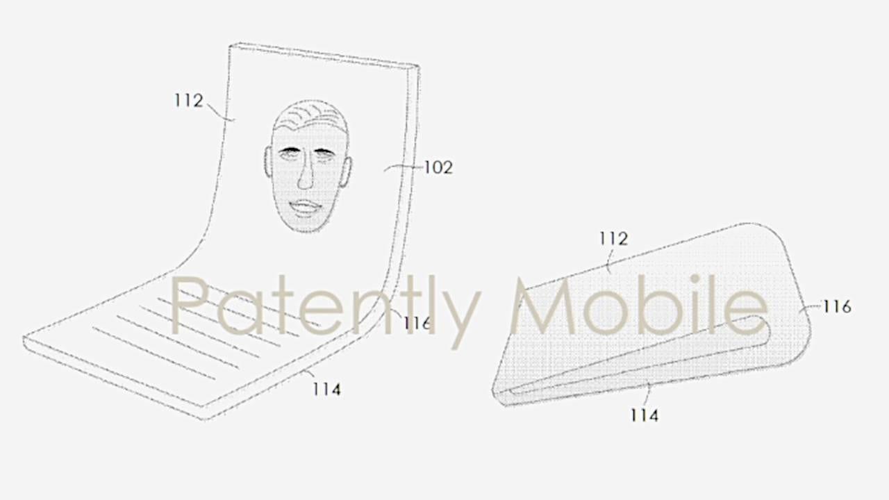 Google тоже запатентовала складной смартфон (google foldable patent 1)