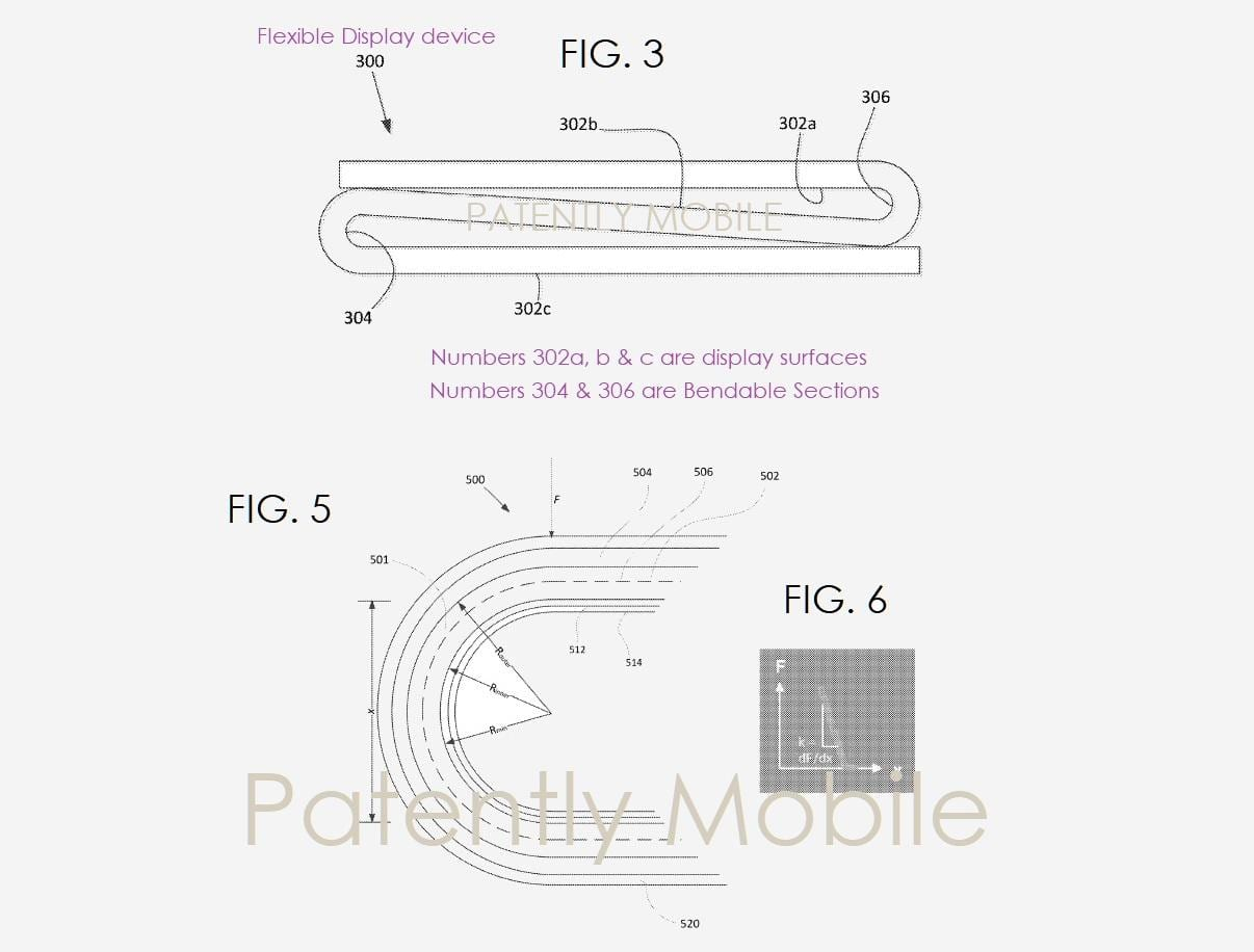 Google тоже запатентовала складной смартфон (google foldable patent 2)