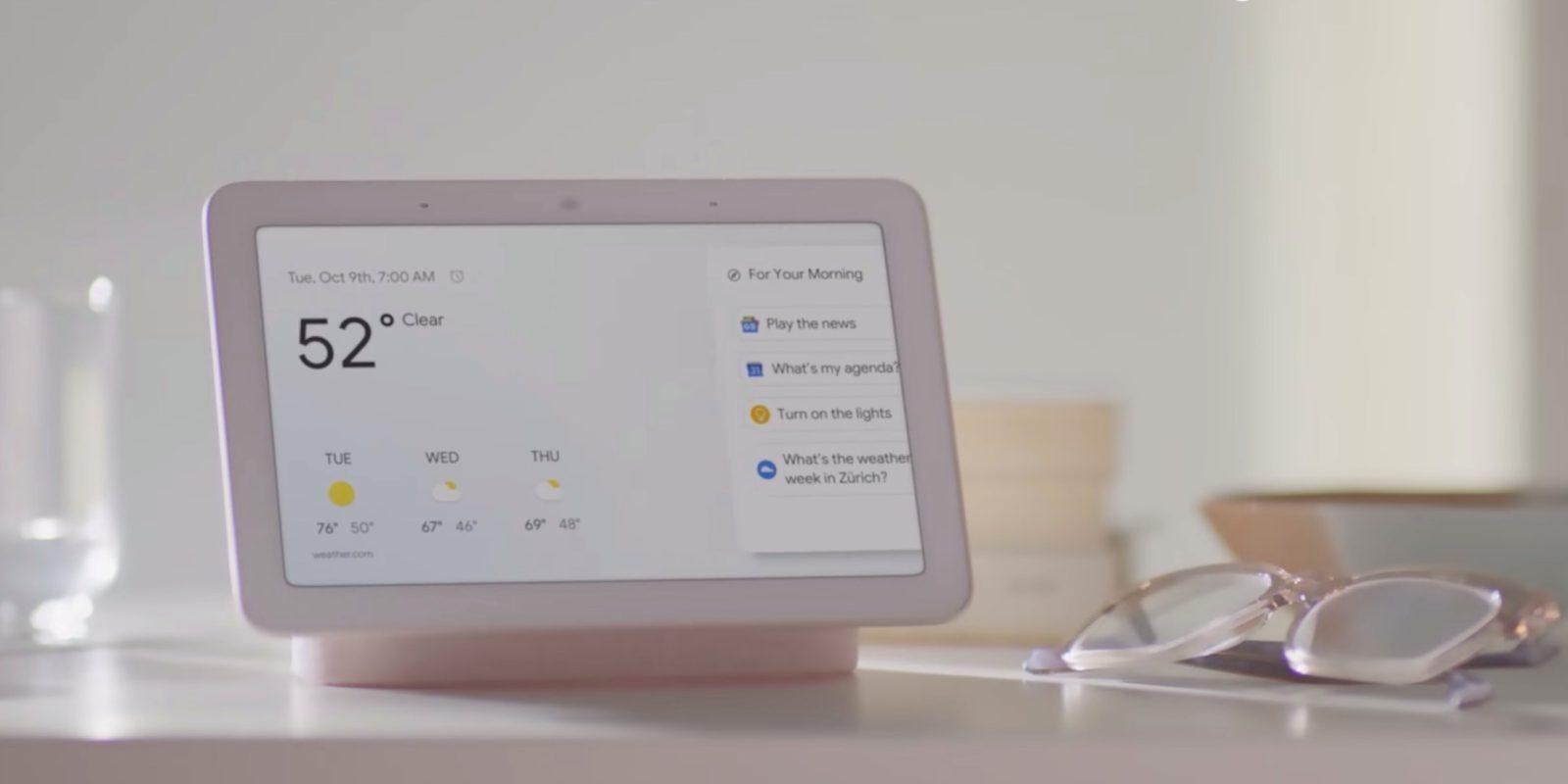 Google Assistant получил обновление, облегчающее общение (google home hub cover)