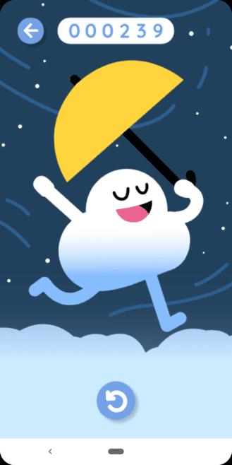 У Google появилась новая игра-пасхалка, похожая на Flappy Bird (google offline game floaty cloud 5)
