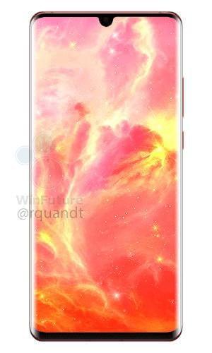 Новые фото Huawei P30 Pro: цвет Sunrise Red, а у обычной версии останется разъем 3,5 мм (gsmarena 0002)