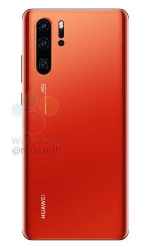 Новые фото Huawei P30 Pro: цвет Sunrise Red, а у обычной версии останется разъем 3,5 мм (gsmarena 0003)